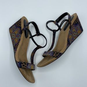 Style & Co Mulan Wedge Sandals size 6